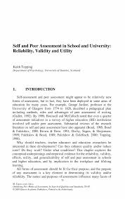 Sample Self Assessment How To Write A Self Assessment Essay Self Evaluation Essay Co Sample 15