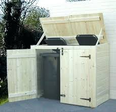 build garbage can enclosure garbage can storage plans outdoor garbage can storage bin outdoor trash bin