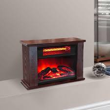 com lifepro ls pcfp1056 750w mini fireplace heater infrared quartz 14 inch home kitchen