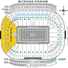 Seating Chart Michigan Football Stadium Maize Outs And The Michigan Stadium Fan Experience Maize