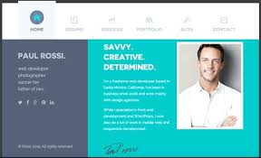 simple resume website professional resume website template wordpress psd web top resume