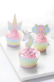 Unicorn Cupcake Decorating Kit Royal Icing Baking Supply