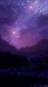Night Iphone Stars Wallpaper - Universe ...