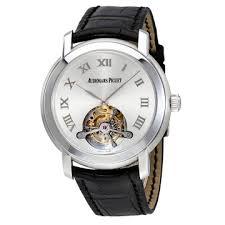 men s watches luxury fashion casual dress and sport watches audemars piguet jules audemars tourbillion silver dial men s watch 26561bcood002cr01