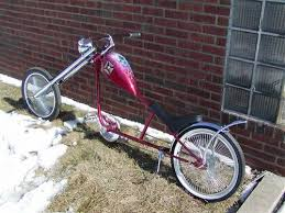 chopper lowrider bicycle custom one of a kind ronsusser com