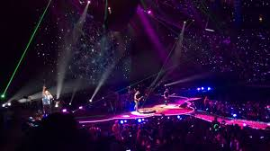 Vivint Smart Home Arena Seating Chart Coldplay Performs A Sky Full Of Stars Vvnt Smart Home Smart