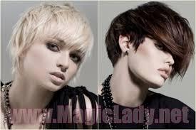 Módní účesy A účesy Pro Krátké Vlasy Fotky Krása A Zdraví