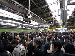 crowded subway train station. Contemporary Crowded Shinjuku Station Serves 35 Million Passengers Per Day Image Courtesy Of  Chris 73 For Crowded Subway Train