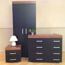 Black And Walnut Bedroom Furniture MonclerFactoryOutletscom - Black and walnut bedroom furniture