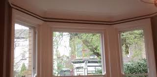custom made metal bay window curtain track made to measure to fit your window perfectly