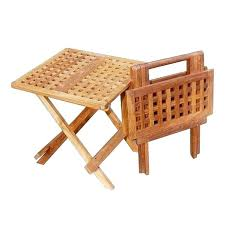 teak side table singapore teak side table kijiji teak coffee table with umbrella hole teak lattice folding side table view images