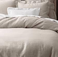 vintage washed belgian linen bedding