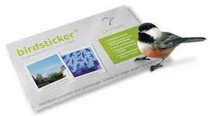 Birdsticker Vogelschutzaufkleber Kaufen Naturschutzcenter