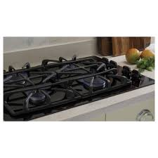 ge 30 built in gas on glass cooktop with power boil burner
