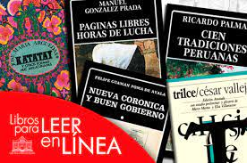 obras literarias peruanas que puedes