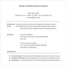 Hybrid Resume Template Enchanting Hybrid Resume Template Creerpro