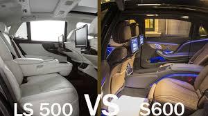2018 lexus ls interior. exellent 2018 2018 mercedes s600 vs lexus ls 500 luxurious interior  top 5 luxury cars  youtube to lexus ls interior