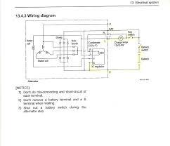 hitachi alternator wiring diagram wire center \u2022 Old 2Wire Alternator Wire Connections sawafuji alternator wiring diagram save magnificent hitachi rh ipphil com yanmar hitachi alternator wiring diagram hitachi