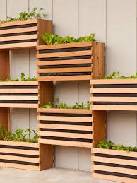 Small Picture 10 Vertical Planter Ideas For Summer HGTVs Decorating Design