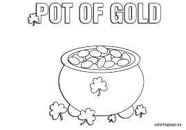Small Picture Pot of Gold coloring page