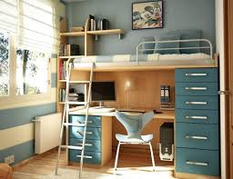 space saver furniture for bedroom. Space Saving Furniture For Bedroom Modern House In Feature High Bed With Study Table And Blue Nz Saver R