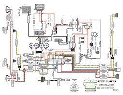 1950 Willys Wiring Diagram Jeep CJ5 Wiring Schematic