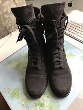 chanel boots. grey leather authentic chanel boots shoes size 37