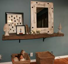 Railroad Tie Mantle railroad tie cut in half and used as a rustic shelfgreat 2634 by xevi.us