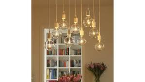 susuo lighting modern chic multi pendant chandelier adjule diy ceiling spider pendant lighting color white