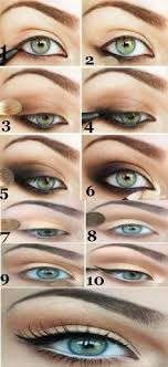 makeup tips for brown eyes simple