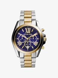 watches for men gold silver tone leather smartwatches bradshaw two tone watch