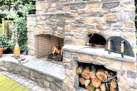 outdoor fireplace pizza oven combo outdoor fireplace brick oven combo fireplace and pizza oven outside fireplace