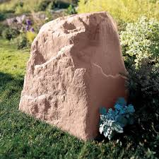 Faux Landscape Rocks Rock Landscaping Utility Box Covers At Brookstone Buy  Now 8