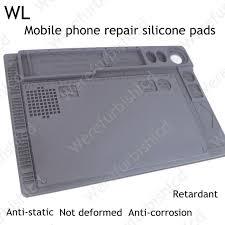 wl heat resistant heat bga soldering station repair insulation pad insulator pad desk mat