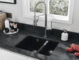 black undermount sink.  Undermount Lamona Black Granite Composite Insetundermount 15 Bowl Sink With Undermount Sink