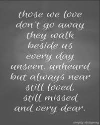 Quotes After Death Of A Loved One - quotes about living after ... via Relatably.com