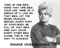 Wake Up One Idea Motivational Quotes By Swami Vivekananda Delectable Quotes Vivekananda