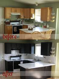painting kitchen cabinets black before and after. Wonderful Cabinets Helpful Review Of Rustoleum Cabinet Transformations System  How To Paint  Your Kitchen Cabinets Before And After Itsalwaysautumncom Inside Painting Kitchen Cabinets Black Before And After U