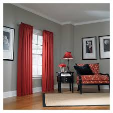 Red Bedroom Curtains Bedroom Curtains With Gray Walls