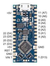 The digital pins can be used to interface sensors by using them as input pins or drive loads by using them as output pins. Arduino Nano Every Pins Misplaced Nano Every Arduino Forum