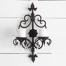 victorian candle lantern wall sconce