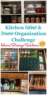 in the kitchen drawer and cabinet organization challenge you ll get step by step instructions