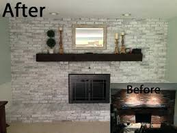 white washed fireplaces blue living room with whitewashed brick fireplace images of whitewashed brick fireplaces