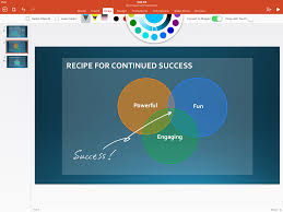 How To Add A Venn Diagram In Word New To Office 365 In January New Inking Tools Collaboration