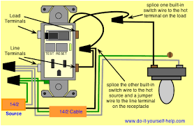 electrical how do i wire a gfci switch combo home improvement wiring ground fault interrupter and light switch enter image description here