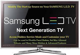 samsung led tv logo. diy change default start up mode in samsung led tv hidden service menu - youtube led tv logo