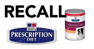 breaking fda announces expanded list of recalled hill s prescription t science t dog food