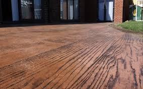 wood alternative decking. Modren Alternative Concrete Decks The Best Alternative To Wood Decking For A