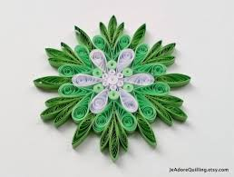 Quilled Snowflakes Quilling Paper Art Christmas Tree Decor