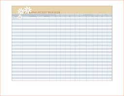 New Wedding Guest List Templates Free Konoplja Co
